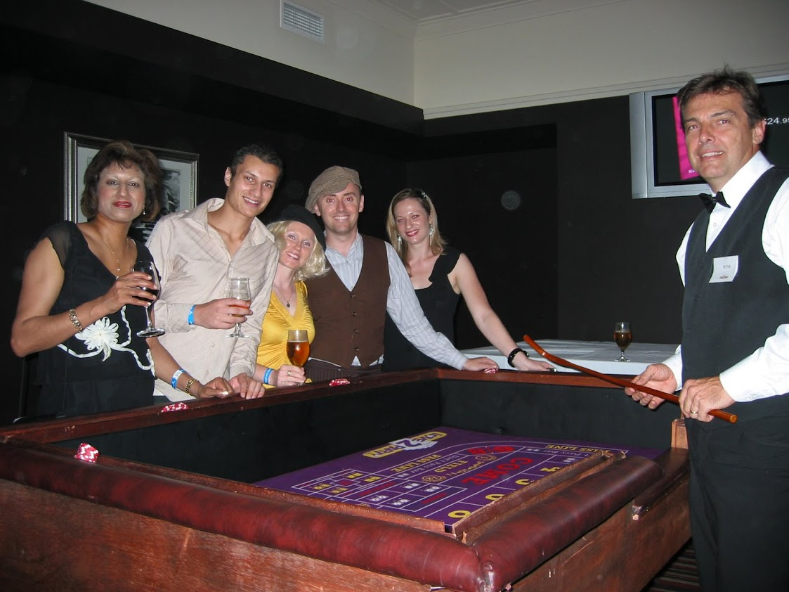 Guests enjoying a Craps run down!